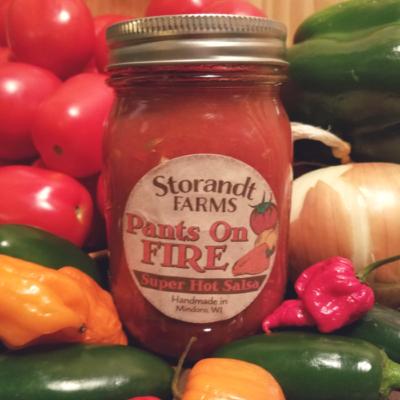 """Pants on Fire"" Super Hot Salsa"