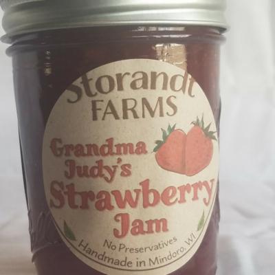 Grandma Judy's Strawberry Jam