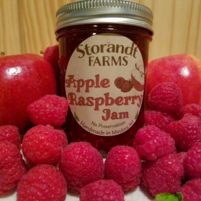 Apple Raspberry Jam