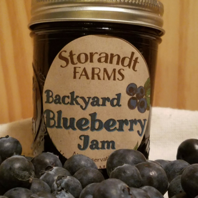 Backyard Blueberry Jam