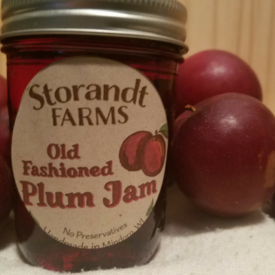 Old Fashioned Plum Jam