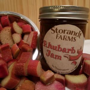 StorandtFarms-RhubarbJam