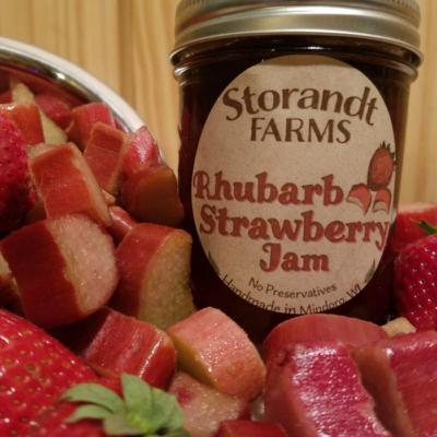 Rhubarb Strawberry Jam