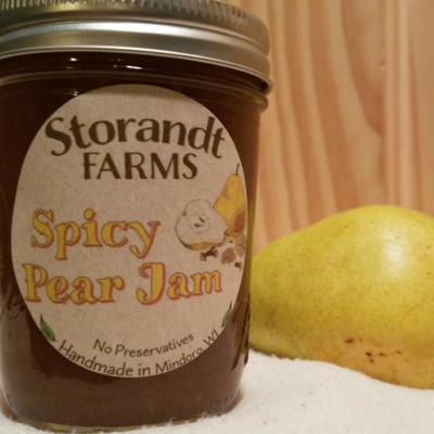 Spicy Pear Jam